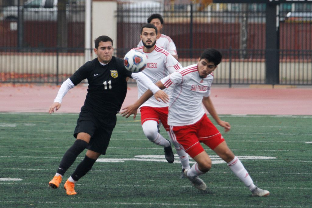 Butte Men S Soccer Falls To San Francisco In Norcal Elite Eight With Images Soccer Soccer Team Elite