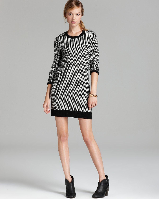 2dafdffa59 Joie Sweater Dress - Geralda Tweed Pattern
