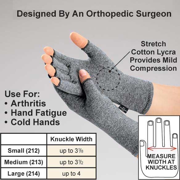 Lycra Compression Gloves For Arthritis Christmas