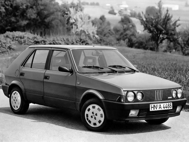 Fiat Ritmo 5-door (1985 – 1988).