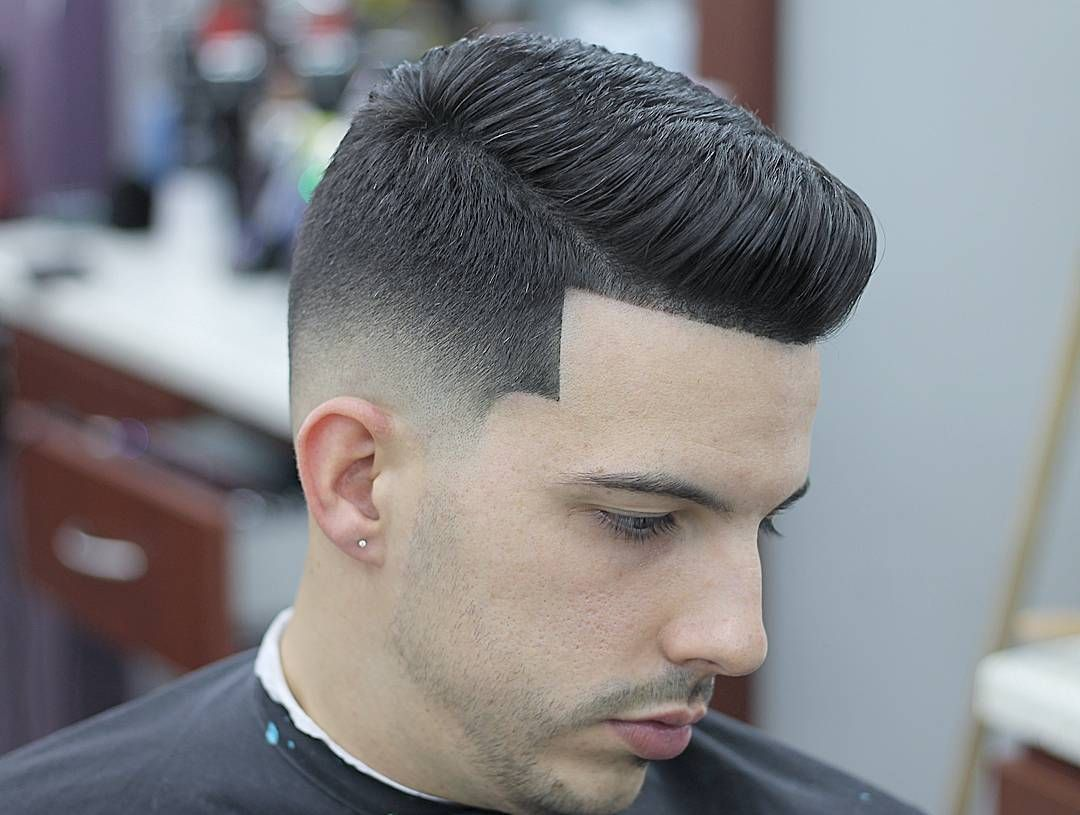 Great Drop Fade Comb Over - Individuals who have african american curly Afro hai...,  Great Drop Fa