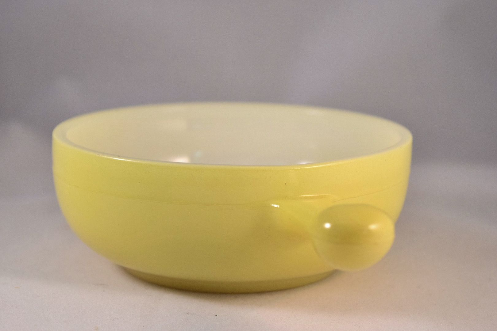 Glasbake lug handle onion soup bowls ounce products pinterest