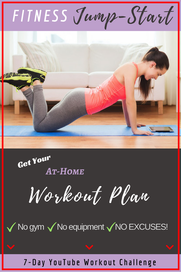 Jump start your fitness with my 7 Day Workout Challenge
