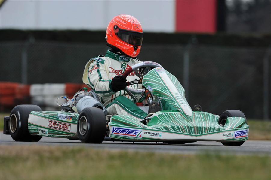 Michael Schumacher Go Kart