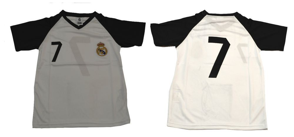 the latest 201d0 facff Details about Youth Soccer Jersey Real Madrid Cristiano ...