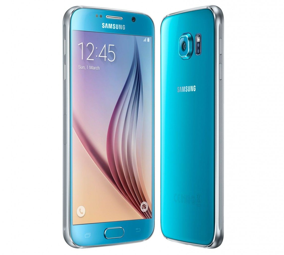 Samsung Launches Two New Colors For Galaxy S6 And S6 Edge Galaxie Samsung Galaxy S6 Topaze