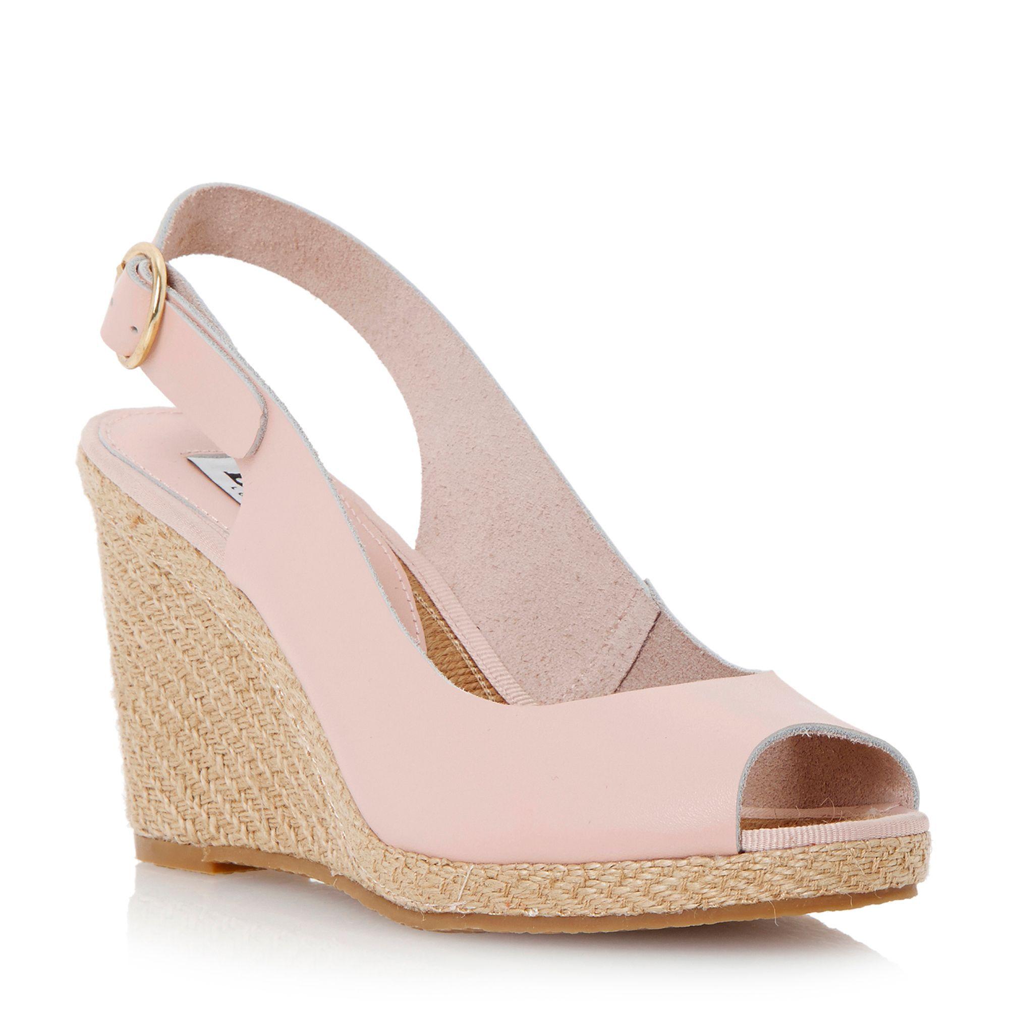 df95400d1b0 Dune Gleeful espadrille slingback wedge sandals