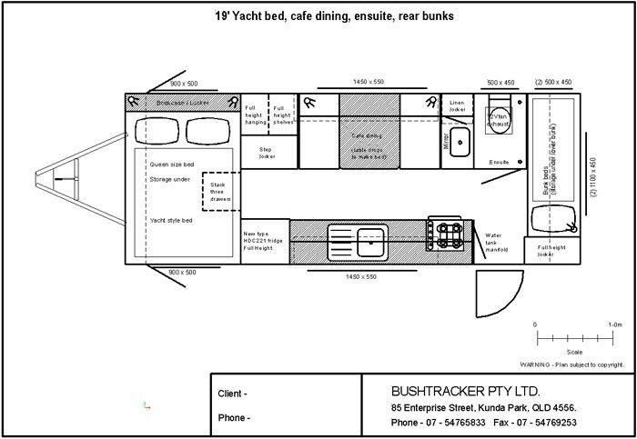 Layouts Bushtracker Caravan Renovation Floor Plan Layout Diy Caravan