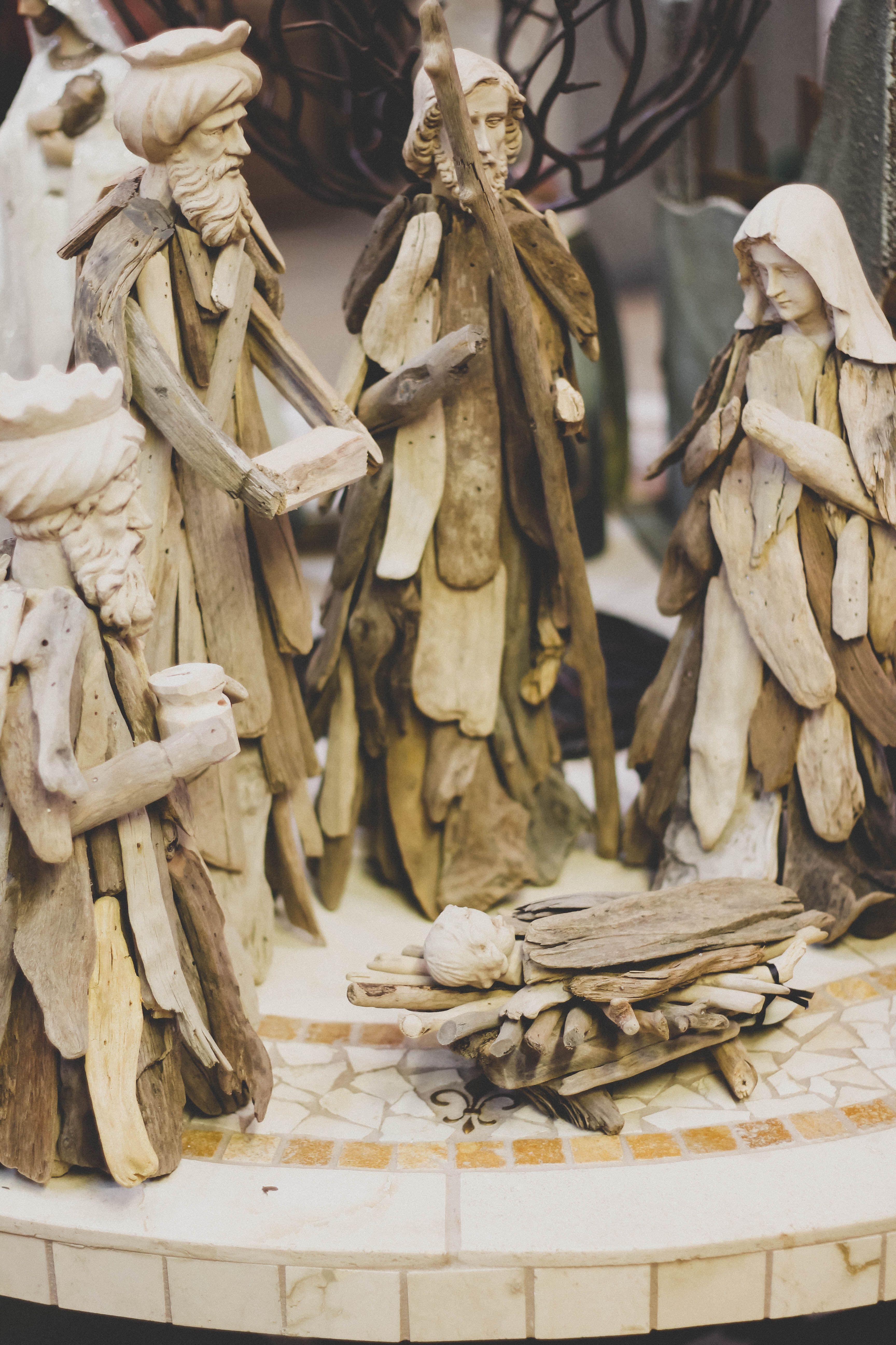 Thomas kinkade o holy night christmas stocking - Craft