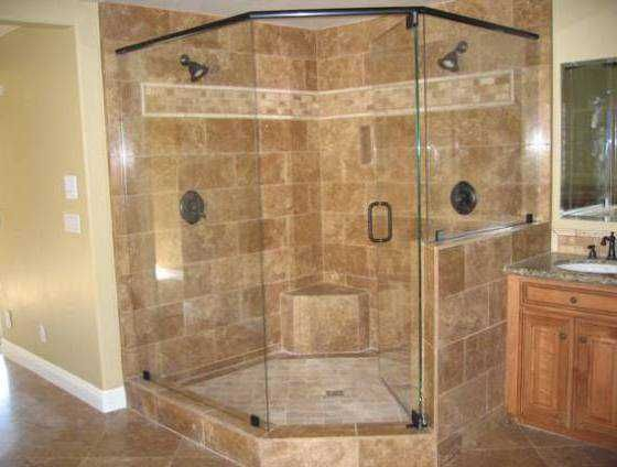 Cool Corner Shower With Frameless Door Corner Shower Neo Angle Shower Small Bathroom With Shower