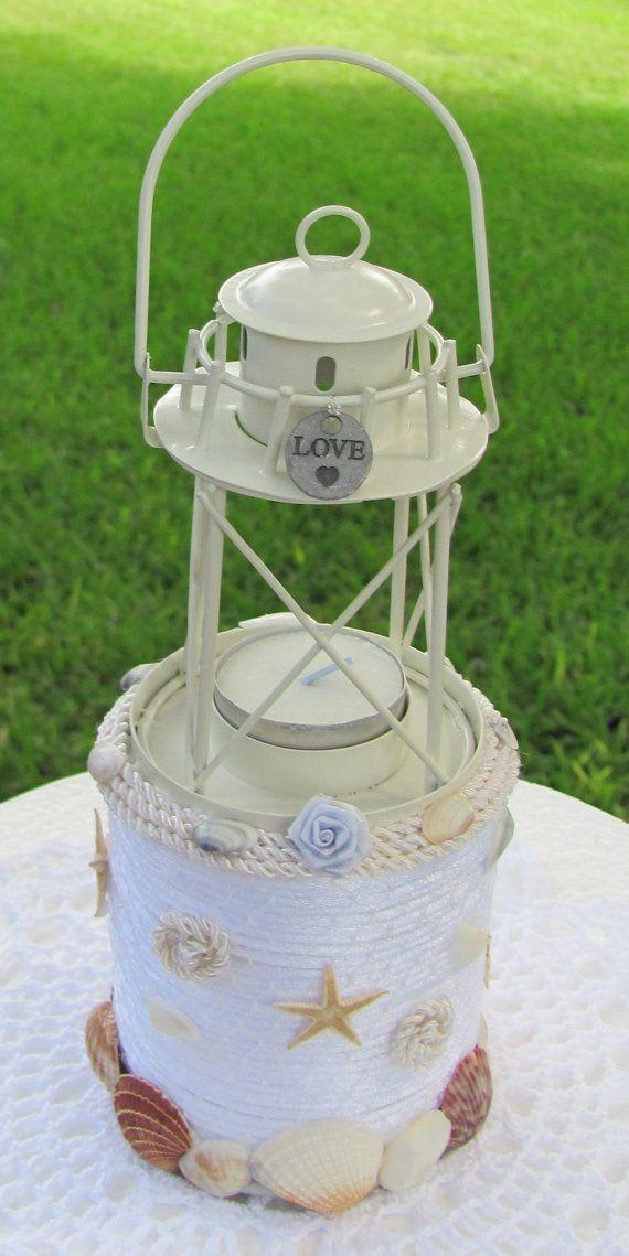 Lighthouse Wedding Cake Topper Original By Flowerfilledweddings