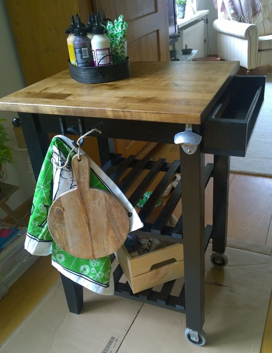 Ikea Hacks Küchenwagen Bbq Cart Ikea Bekvam Hack Kitchen Cart Redo In 2019 Pinterest