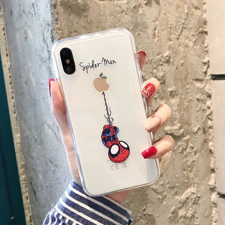 Funny Cartoon Phone Case For Iphone X Xs Max Xr Cute Cat Tom Cover For Iphone 8 7 6 6s Plus Soft Silicone Clear Transparent Case Jkp1602 Dengan Gambar Iphone Casing Iphone Casing