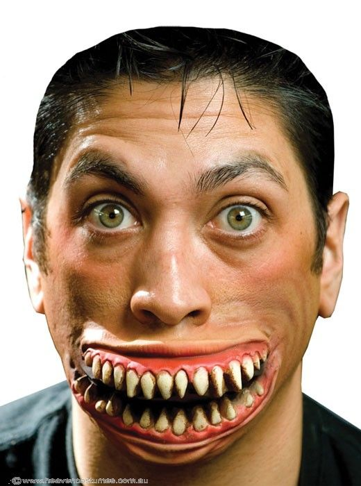 Halloween Special FX | Crazy Grin Halloween Prosthetic | Heaven Costumes - Halloween Costumes | fancy dress costumes Australia | wigs masquerade masks ...  sc 1 st  Pinterest & Crazy Grin Halloween Prosthetic | Fancy dress costume Halloween ...