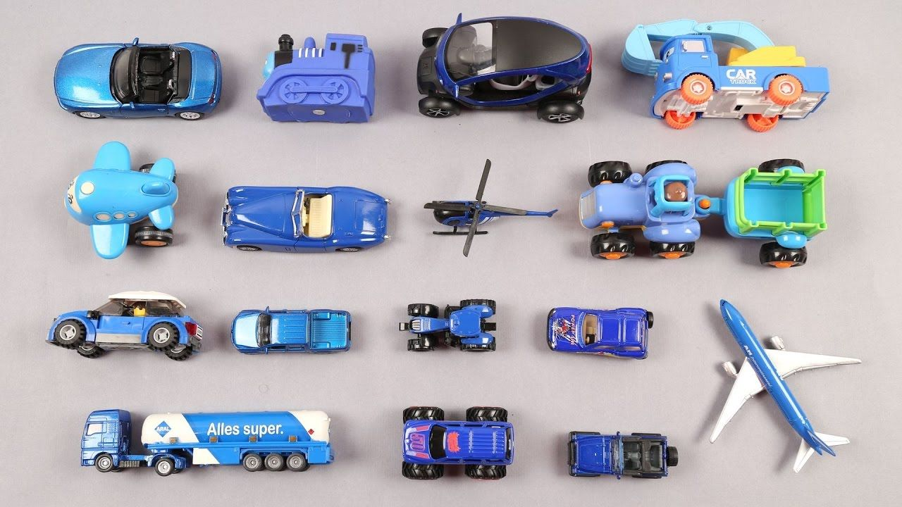In This Video We Will Be Teaching Kids Blue Color With Vehicles Such As Car Helicopter Tractor Lego Car Tractor J Kids Learning Videos Kids Learning Blue Color