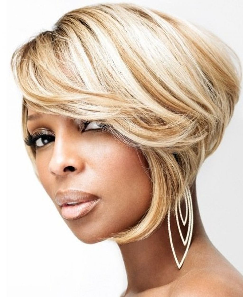 Mary J Blige Hairstyles Short Hair Bob Life Pinterest