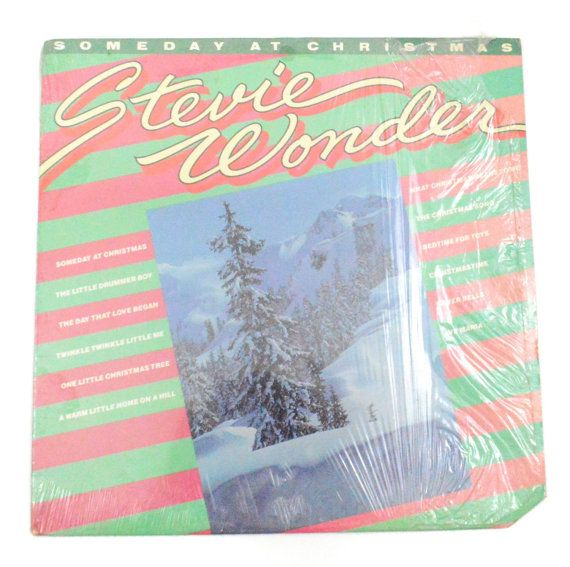 Vintage 70s Stevie Wonder Someday at Christmas Album by Dopedoll ...