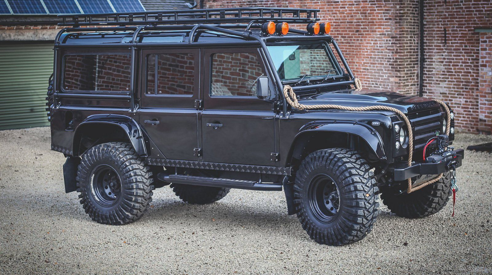 Be Like 007 In This 60 000 Land Rover Defender Spectre Replica