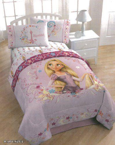 Disney Tangled Rapunzel Twin Comforter and Sheet Set Disney,http://www.