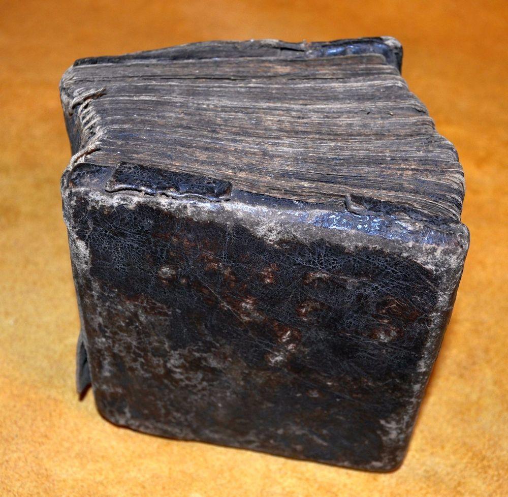 Antique Ethiopian Coptic Christian Manuscript Bible 17th