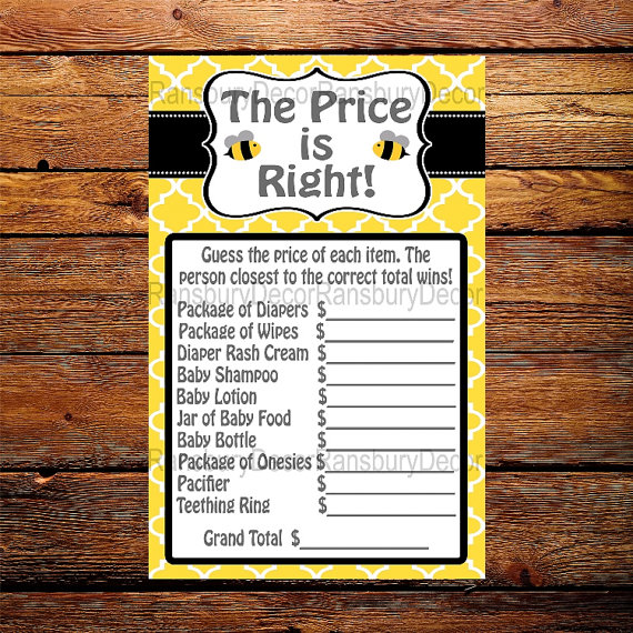 Mom To Bee The Price Is Right