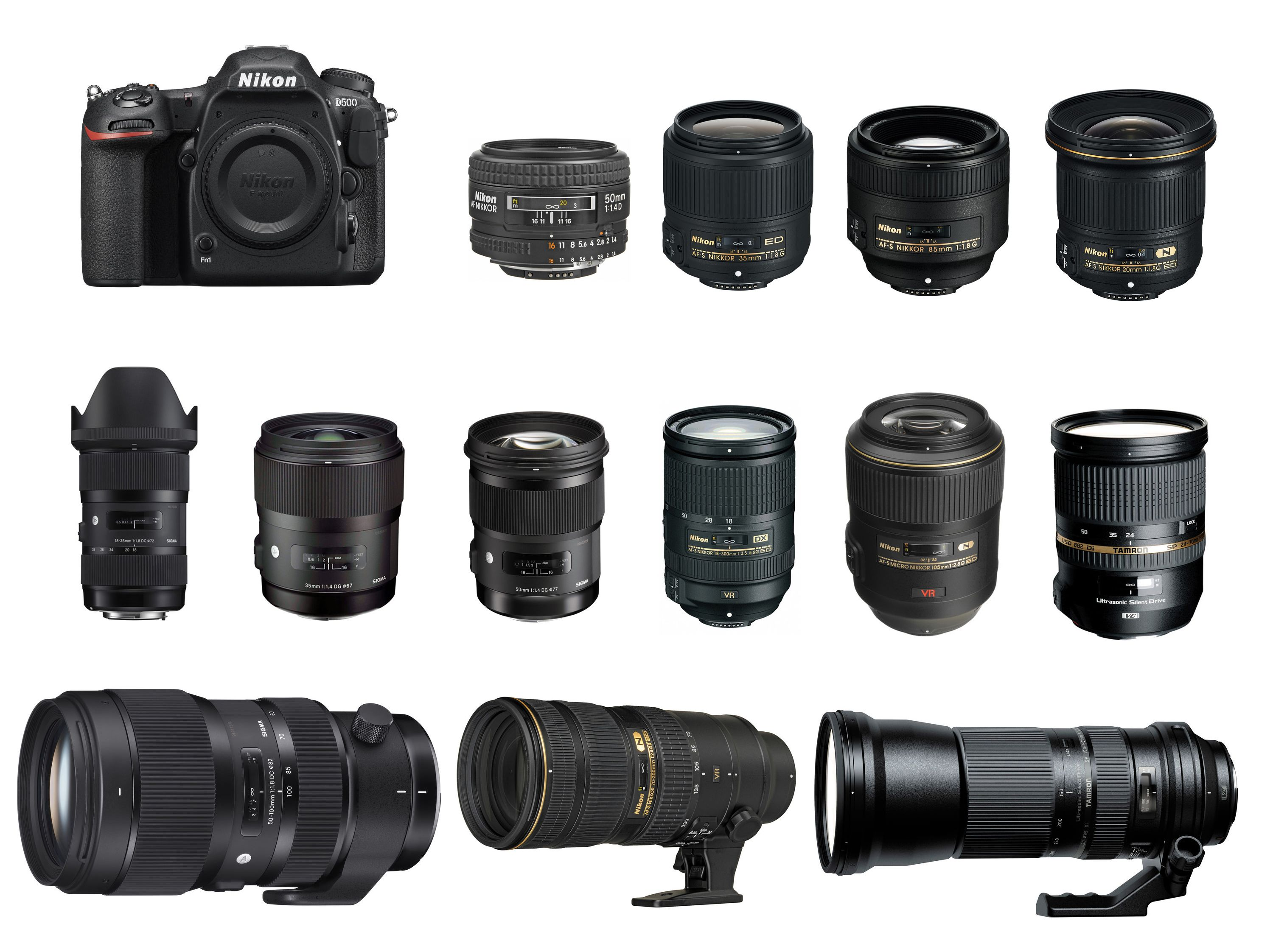 Nikon D500 is a new flagship DX format DSLR camera released in early ...