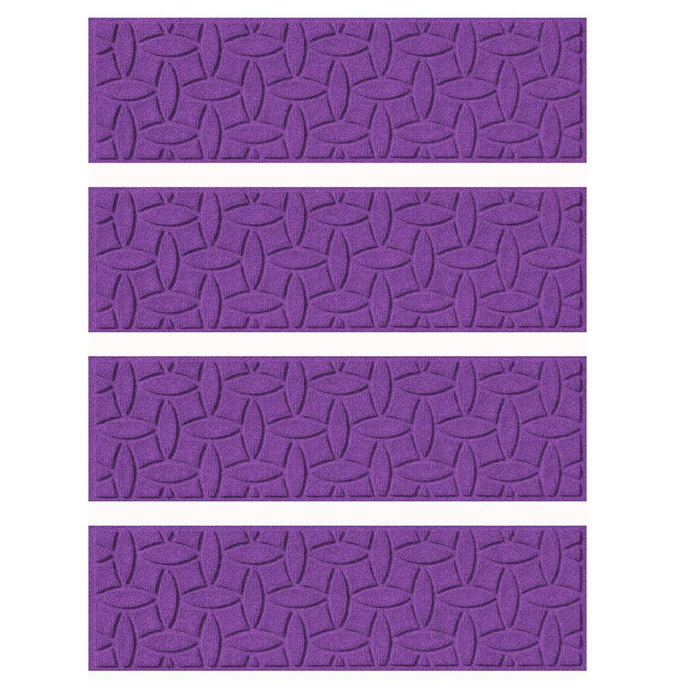 Best Purple 8 5 In X 30 In Ellipse Stair Tread Set Of 4 400 x 300
