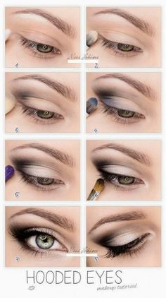 makeup tutorial for hazel eyes and brown hair - Google Search