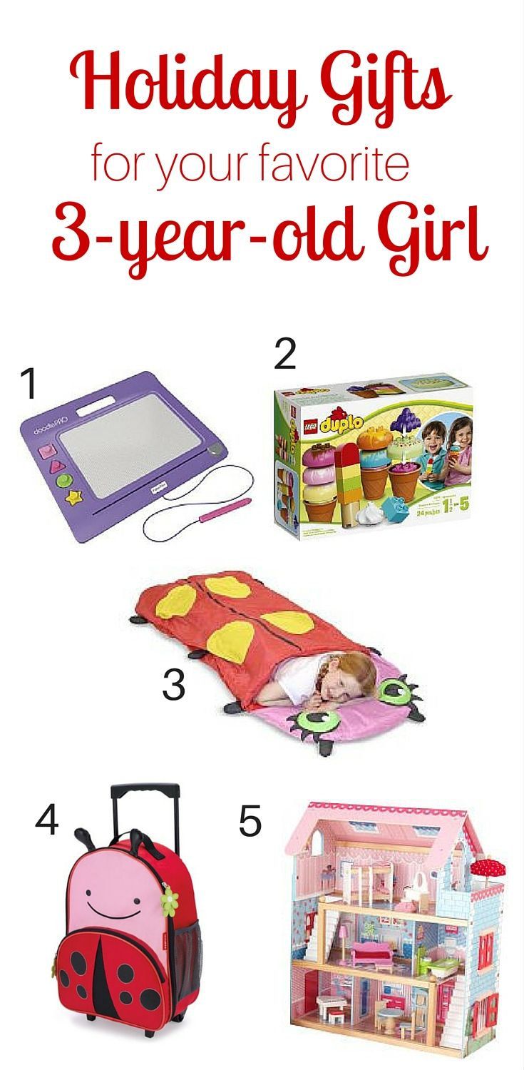 Holiday Gift Guide for the 3-year-old Girl in Your Life | Christmas ...