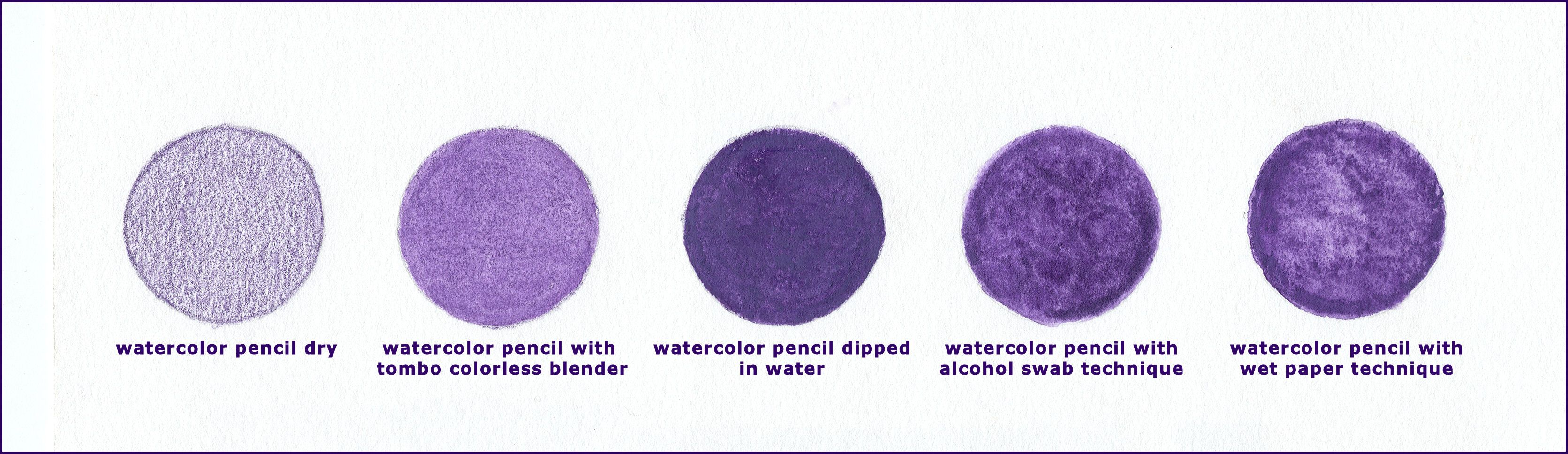 Watercolor Pencil Tips Techniques Watercolor Pencils