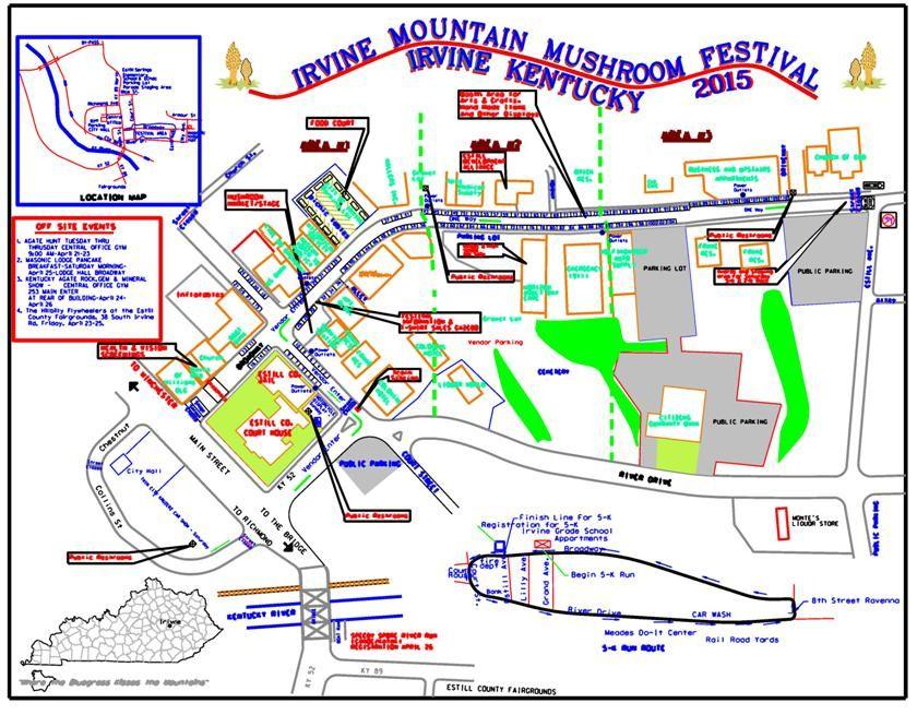 Mountain Mushroom Festival Kentucky Irvine