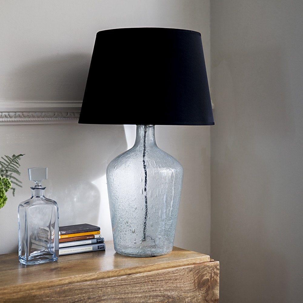 Ausfüllbare Glas Tisch Lampe Lampentisch, Moderne