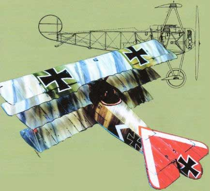 WWI Fokker Dr.I Ver.5 Free Aircraft Paper Model Download - http://www.papercraftsquare.com/wwi-fokker-dr-i-ver-5-free-aircraft-paper-model-download.html#133, #AircraftPaperModel, #DrI, #Fokker, #FokkerDrI, #WWI