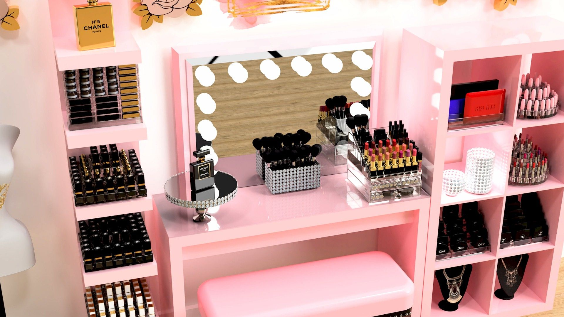 CLICK FOR NEW Makeup And Home Décor And Beauty Room Tips