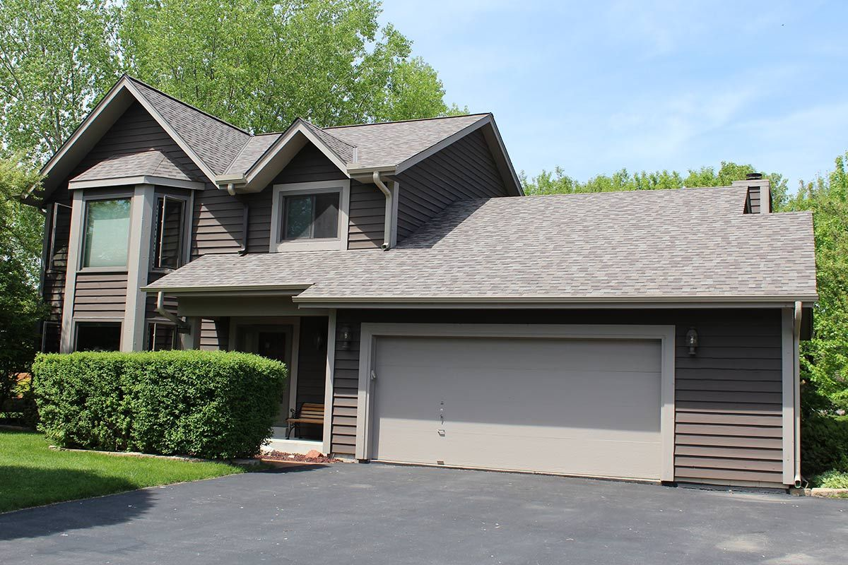 Owens Corning TruDef Duration Driftwood Roof Replacement