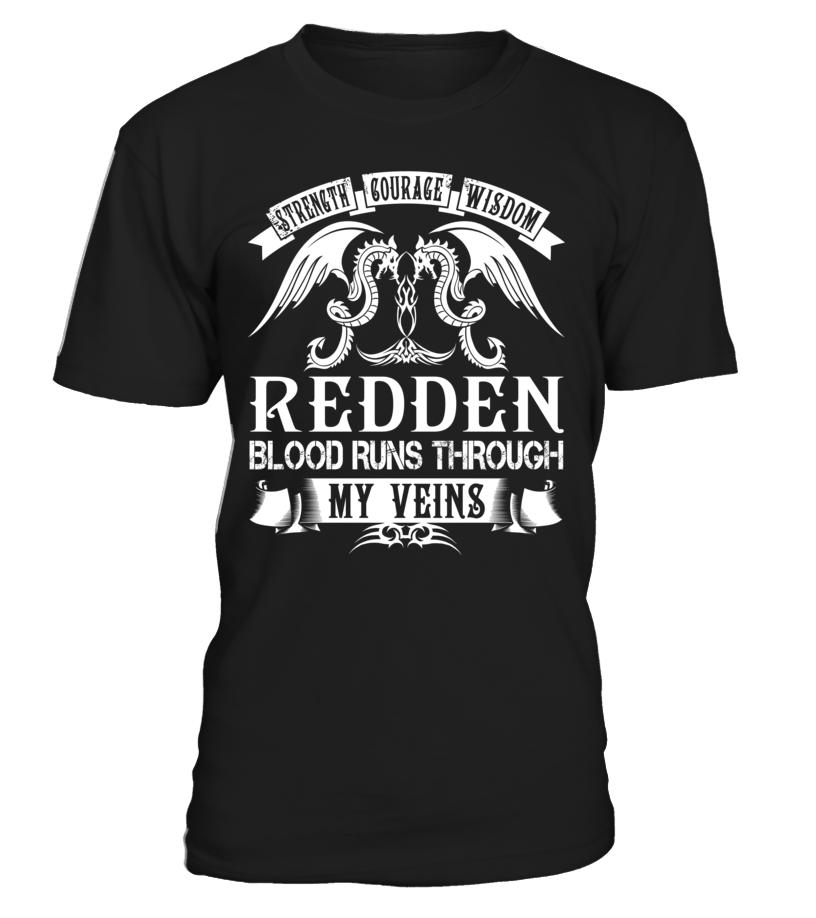 REDDEN Blood Runs Through My Veins #Redden