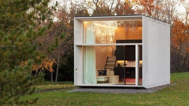 Koda Mini Casa Prefabricada En 7 Minutos Casas Prefabricadas Casas Portatiles Casas Prefabricadas Precios