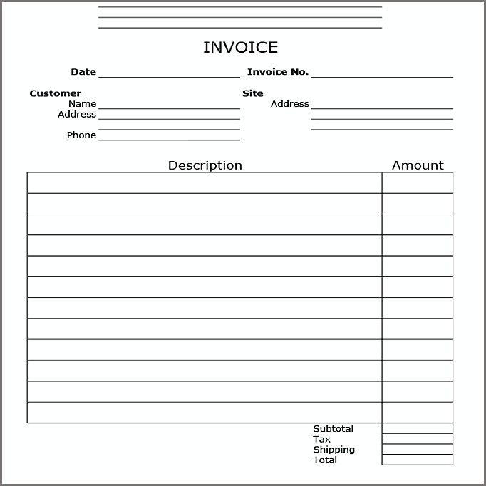 Open Office Invoice Template , Open Office Invoice Template How You