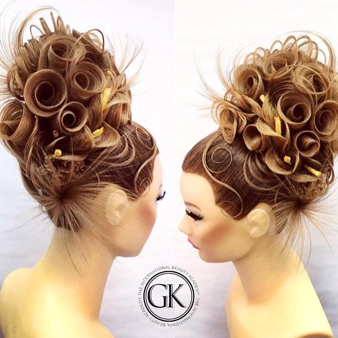 Wedding Hairstyle On Pinterest: Pin By Salon Fusion On HAIR: Formal