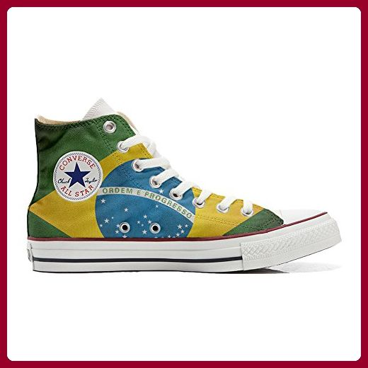 brand new 89718 3a1ab Converse All Star Low Customized Unisex Personalisierte Schuhe (Handwerk  Schuhe) Slim Brasilien 39 EU