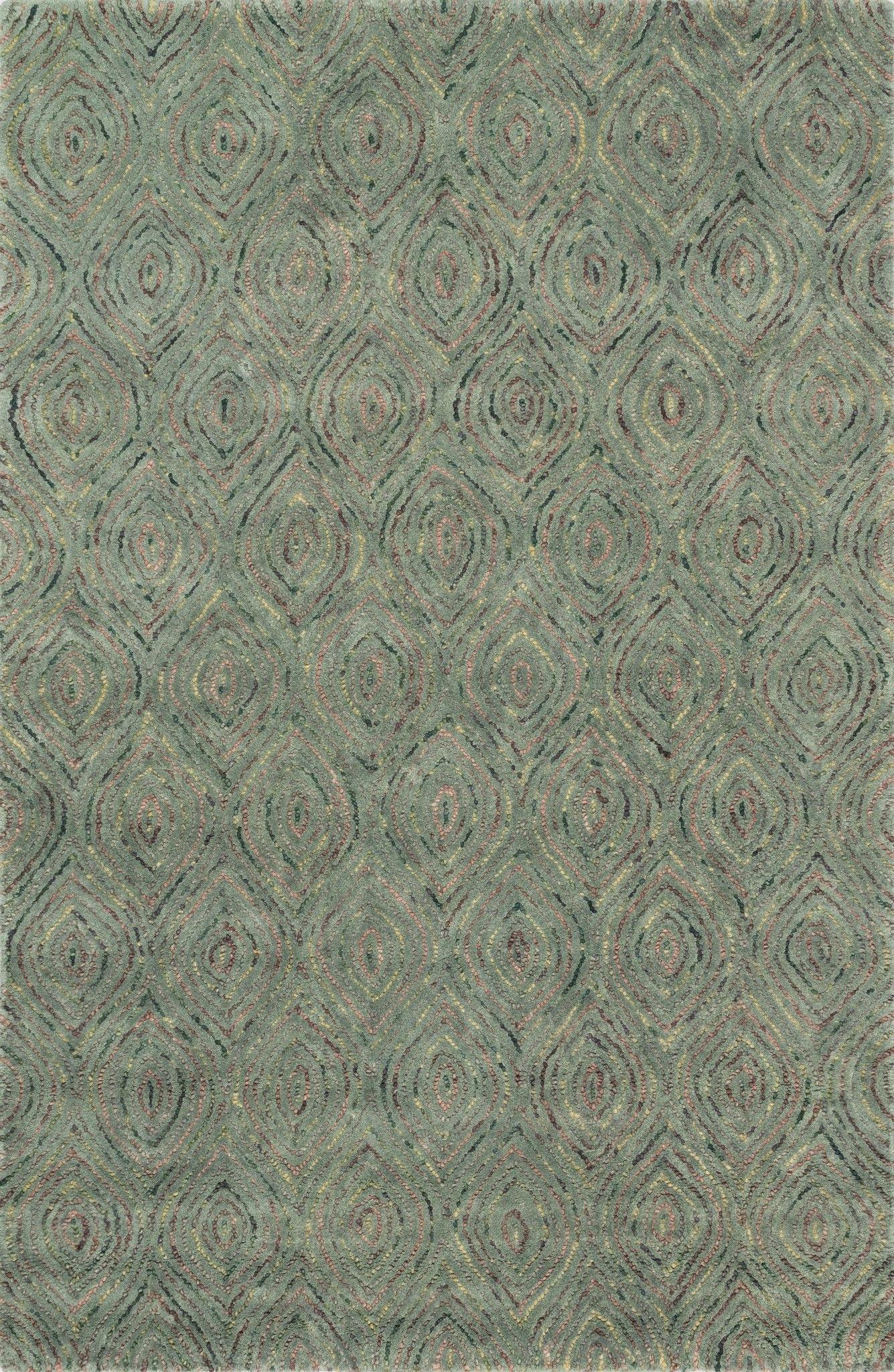 """Loloi Rugs - Diada - 5'-0"""" X 7'-6"""" - Seaweed"""