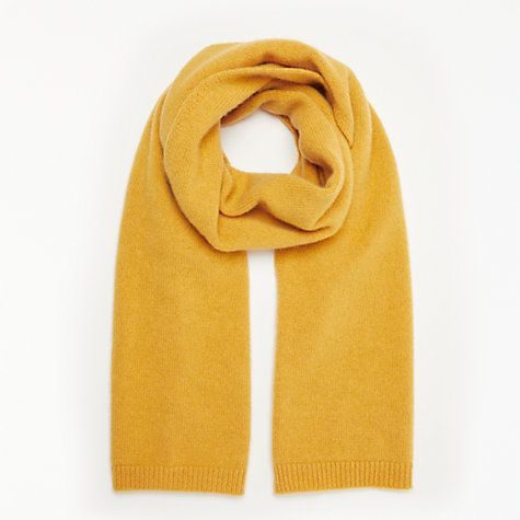 121508563d114 John Lewis & Partners Cashmere Scarf, Ochre in 2019 | SOMETHING ...