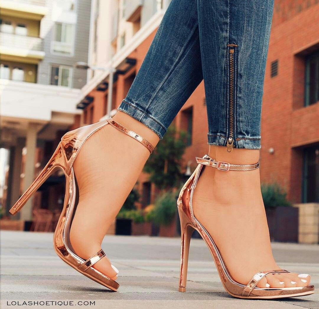 You can buy these heels on website: http://www.lolashoetique.com/new-arrivals #heels #gold #fashion