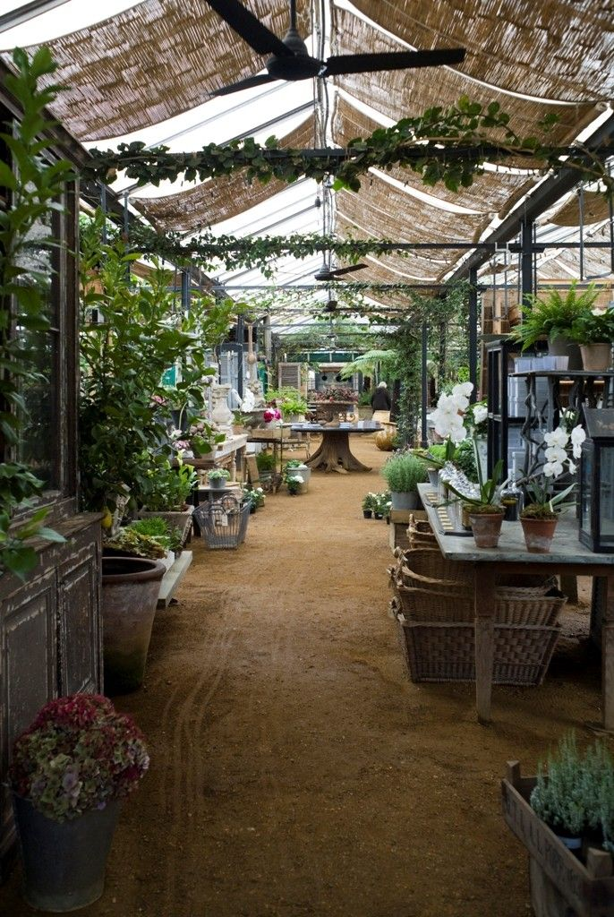 Petersham Nurseries, Richmond Surrey UK Garden cafe