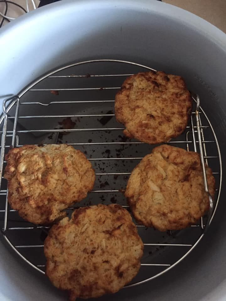 Air fryer crab cakes free recipe network recipe crab