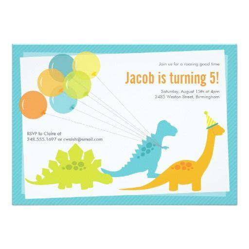 Dinosaur Birthday Party Invitation Zazzle Com Dinosaur Birthday Party Invitations Dinosaur Birthday Invitations Dinosaur Invitations