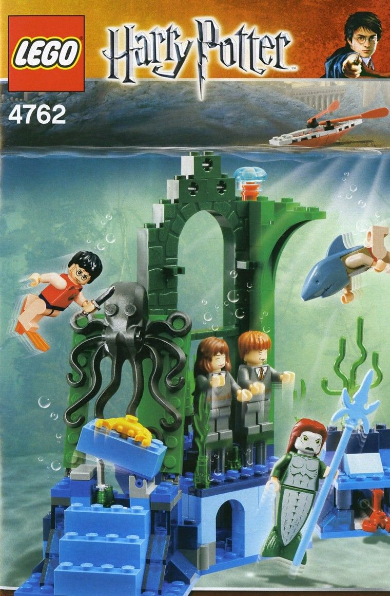 4762 Rescue From The Merpeople Harry Potter Toys Harry Potter Lego Sets Harry Potter Advent Calendar