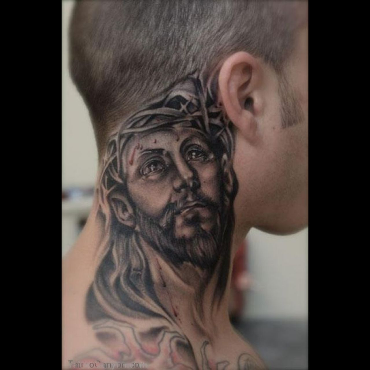 Download free tattoo designs blog archive men neck tattoos for Mens tattoos pinterest
