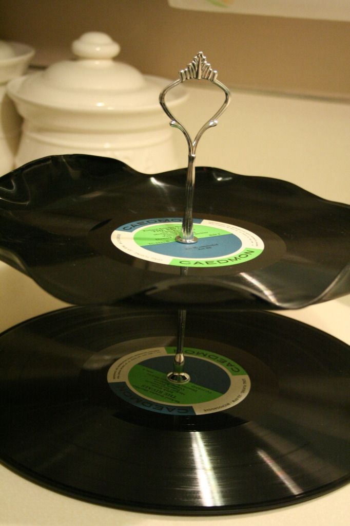 Clever Idea For Old Records Record Crafts Vinyl Record Crafts