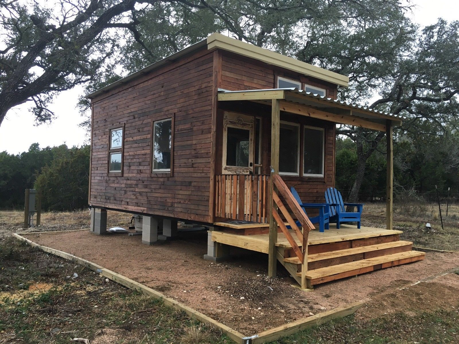 Tiny House 7x7 Easily Movable / Built w Texas Heat in Mind